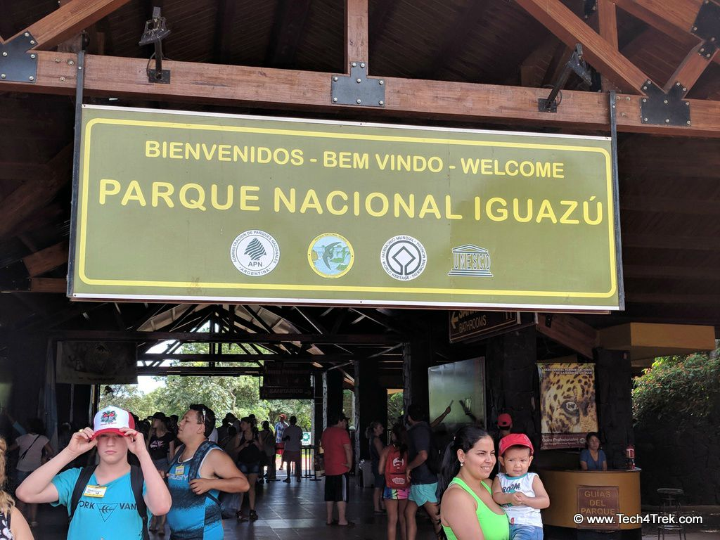 Iguazú Falls Park Entrance Fees