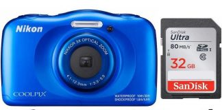 Nikon Coolpix W100 Rugged Digital Camera