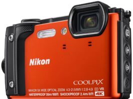 Nikon W300 Shock & Waterproof GPS Digital Camera