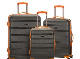 Rockland Melbourne 20 Inch Expandable Carry On