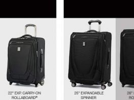 Travelpro Crew 26 Inch Expandable Rollaboard Suiter